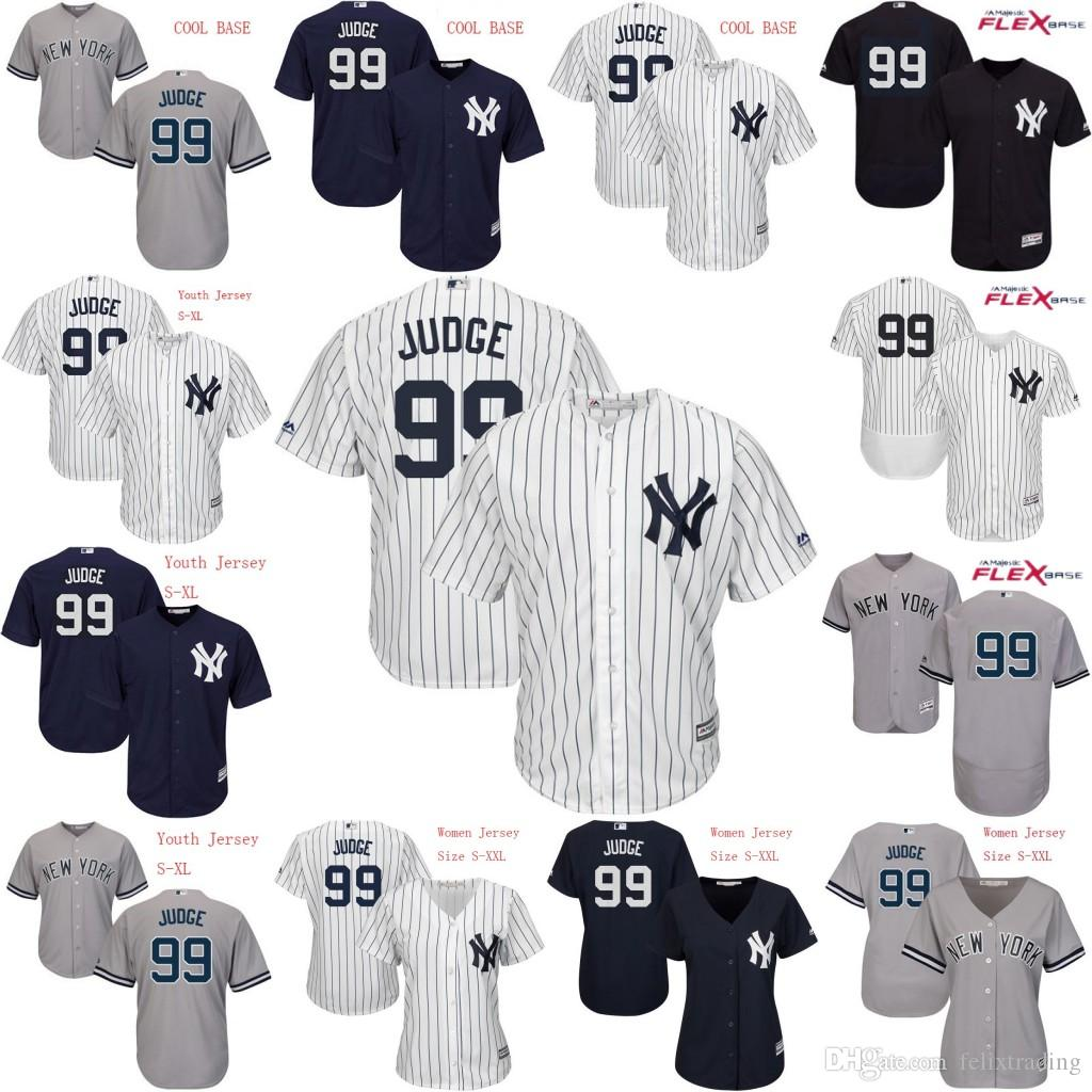6bfcd1bd8 ... 2017 99 Aaron Judge 2017 New York Yankees Jersey Men Youth Women Aaron  Judge All Stitched ...