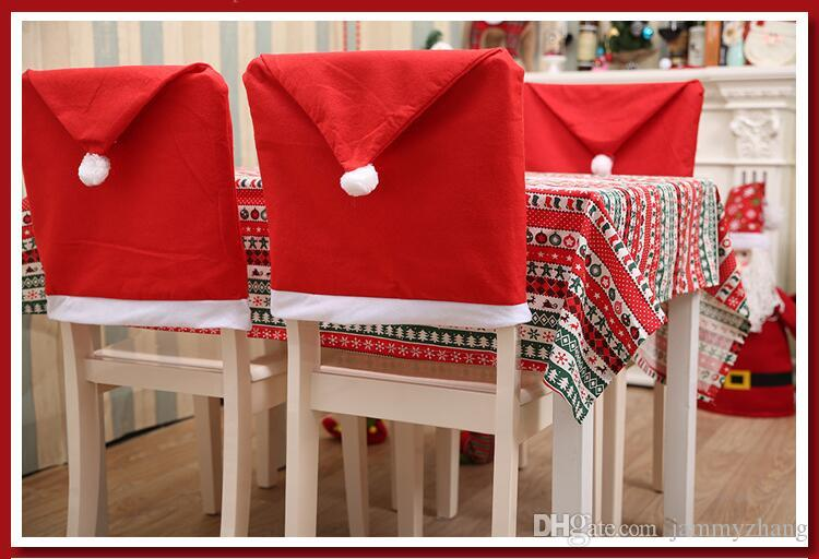 Charming Home Decoration Chair Covers Christmas Series Home Chair Covers A Z1