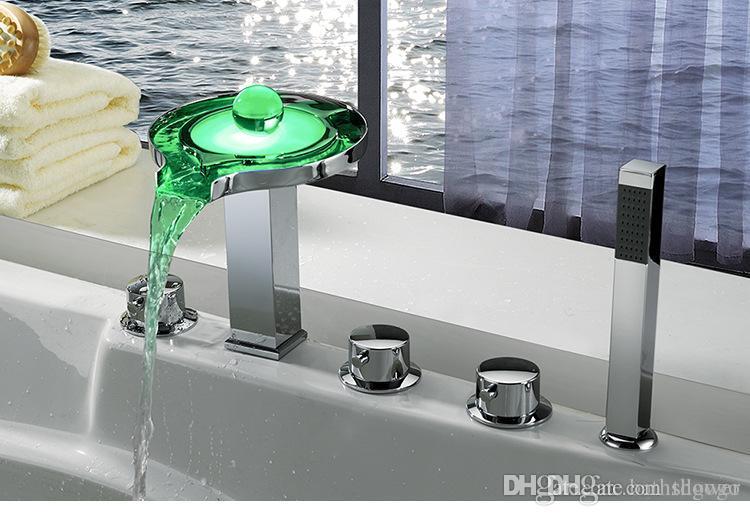 Vasca Da Bagno Vetro : Acquista albergo vasca da bagno rubinetti del bagno mixer