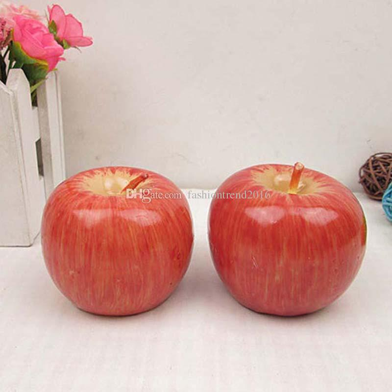 Red Apple Shape Fruit Scented Candle with Retail Package Home Decoration Valentine Birthday Gifts