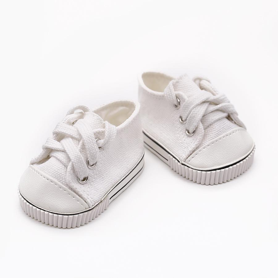 Abbyfrank Cute Doll Shoes For 18 Inch Baby Born Doll Handmade Sneakers American Girl Clothes Doll Accessories Dress Girls Toys