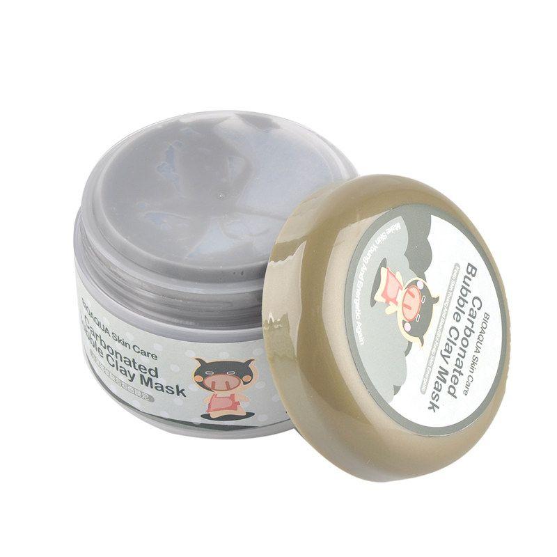 Masque en argile de nettoyage en profondeur Bulle carbonatée Masque anti-acné hydratant pour le visage Masque à la boue carbonatée Masque hydratant pour le sommeil 0611027