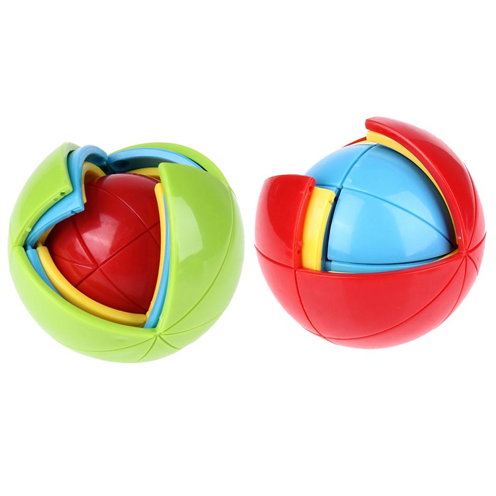 New 3D Magic Intellect Puzzle Maze Ball Brain Teaser Game Educations for Kids IQ Training Logical Puzzle Children Toy