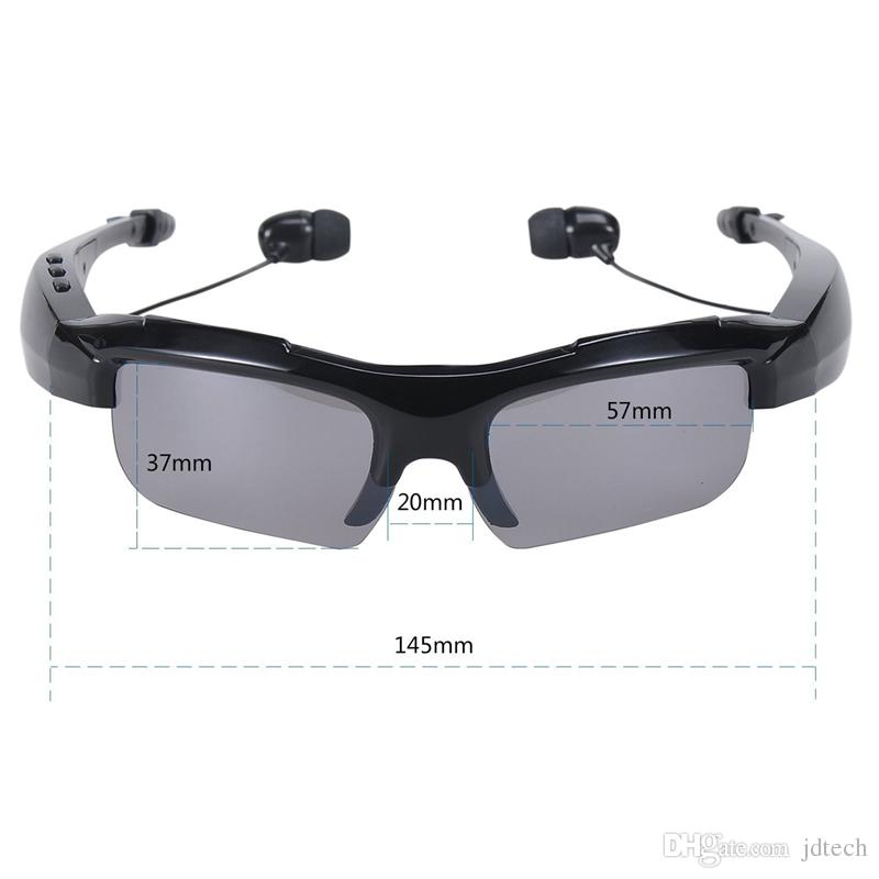 Newest Edition Bluetooth V4.1 Sunglasses Headphones Sports Stereo Sunglass Headsets with Handsfree Answer Music Mp3 Player