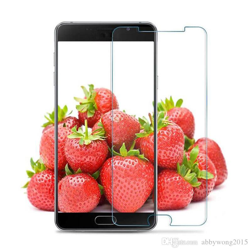 Protections d'écran en verre trempé pour LG G5 SE Pour les téléphones cellulaires Moto G4 Plus Films de verre trempé pour Huawei Y6 II Xiaomi Mi5s