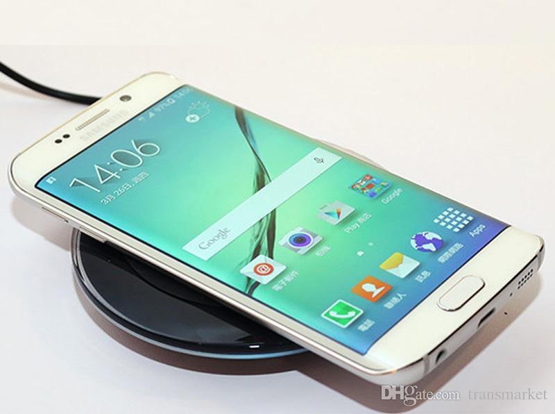 Pad sans fil Chargeur Chargeur Charge rapide Pour iPhone 6s 6 Pour Samsung Galaxy S8 + S8 S8 Plus SM-G Plus S7 Bord G9300 Jungfrau Lucky SM-G9 S6