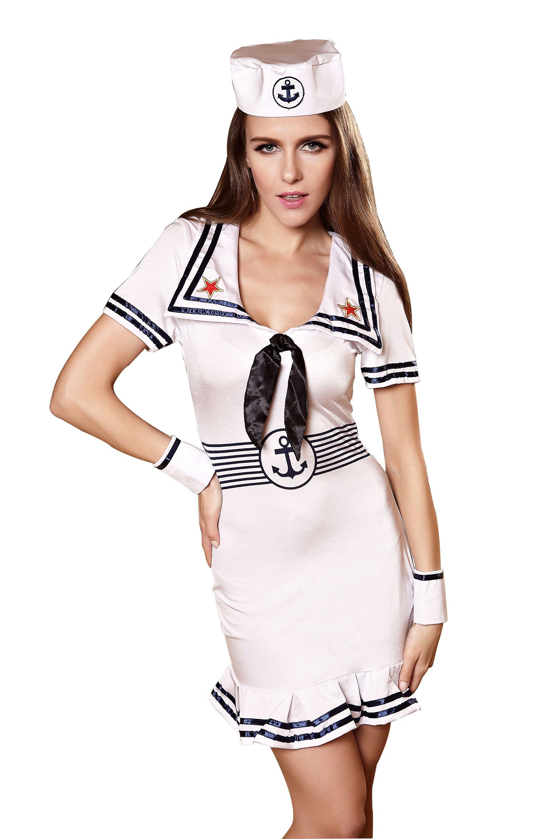 2017 Sexy Lingerie For Women Navy Sailor Uniform For Female Adult ...