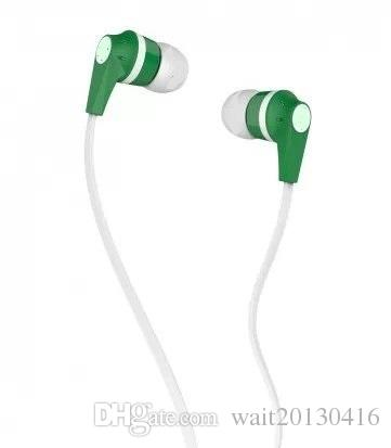 Colorido Super Bass Stereo MIC 3.5mm jack Super Bass fone de ouvido estéreo fones de ouvido fones de ouvido de futebol MICROFONE para o iphone para samsung