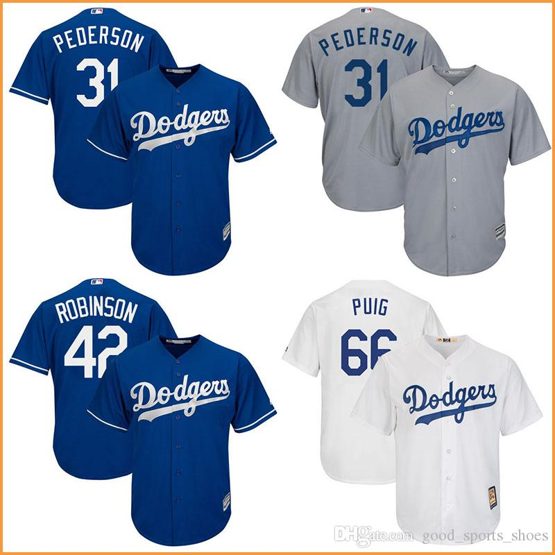 4ef8cfe01 ... grey new cool base stitched mlb jersey 2017 hot sale los angeles dodgers  ...