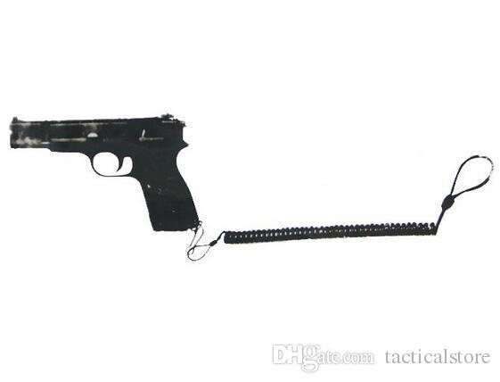 Actical Rifle Sling Pistolet Hand Gun Secure Spring Lanyard Sling Vitesse De Combat Extérieur