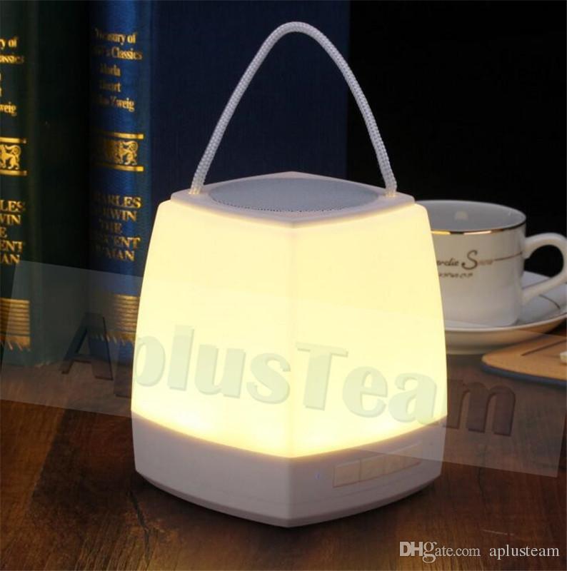 Nouveau Design LED MINI Bluetooth Haut-Parleur Avec TF Carte USB FM Sans Fil Portable Musique Sound Box Subwoofer Haut-parleurs Pour téléphone Tablet PC
