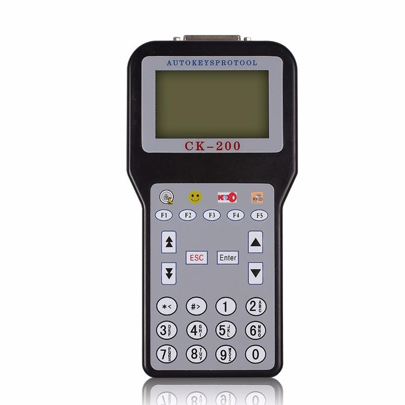 Hot Sale CK-200 CK200 Auto Key Programmer No Tokens Limitation Newest Generation Updated Version of CK-100 dhl