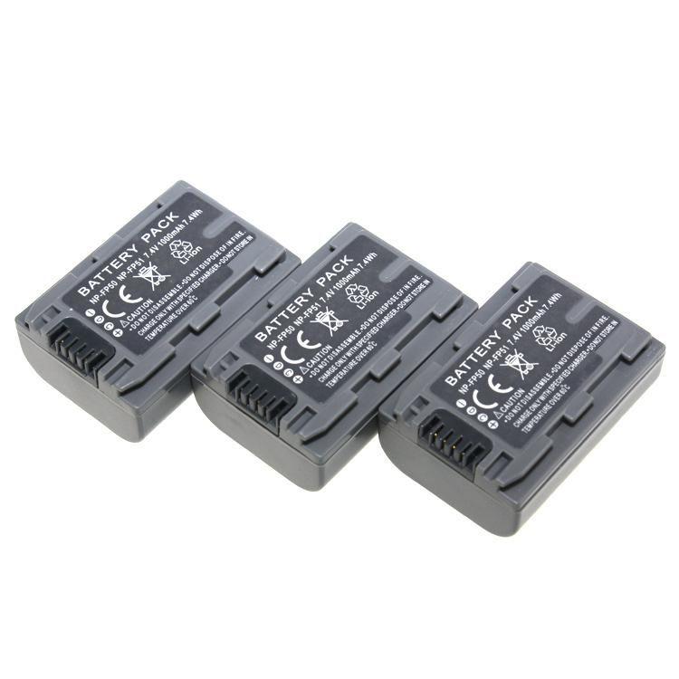고품질 NP-FP50 NP FP50 NP-FP51 NP FP51Camera SONY DCR-HC19 용 배터리 HC20 HC21 HC26 HC30 HC40 HC46 무료 배송