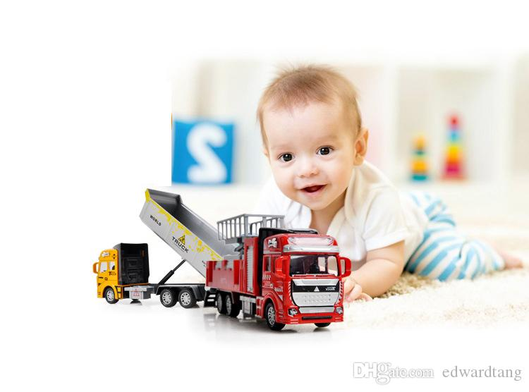 Alloy Car Model Toys, Military Rocket Truck, Fire Engine, Excavator, Express, Tank Truck, Kid' Birthday' Party Gifts, Collecting, Decoration