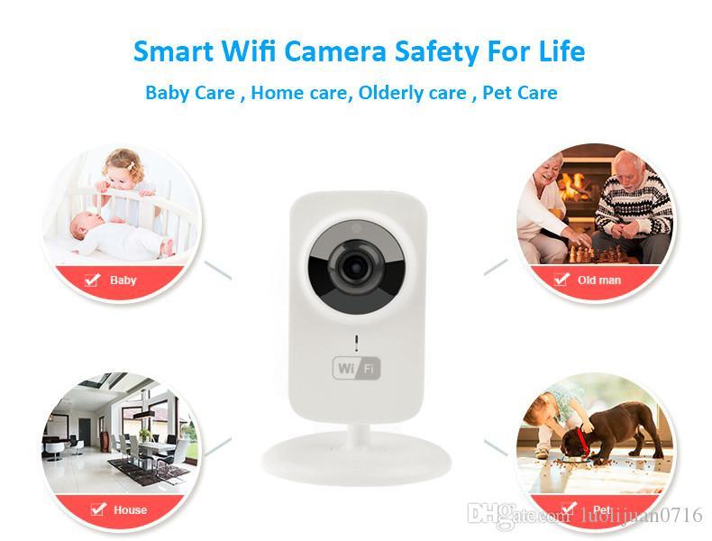Livraison Gratuite V380 Mini Wifi Caméra IP Sans Fil 720 P HD P2P Caméra Intelligente Mode Bébé Moniteur