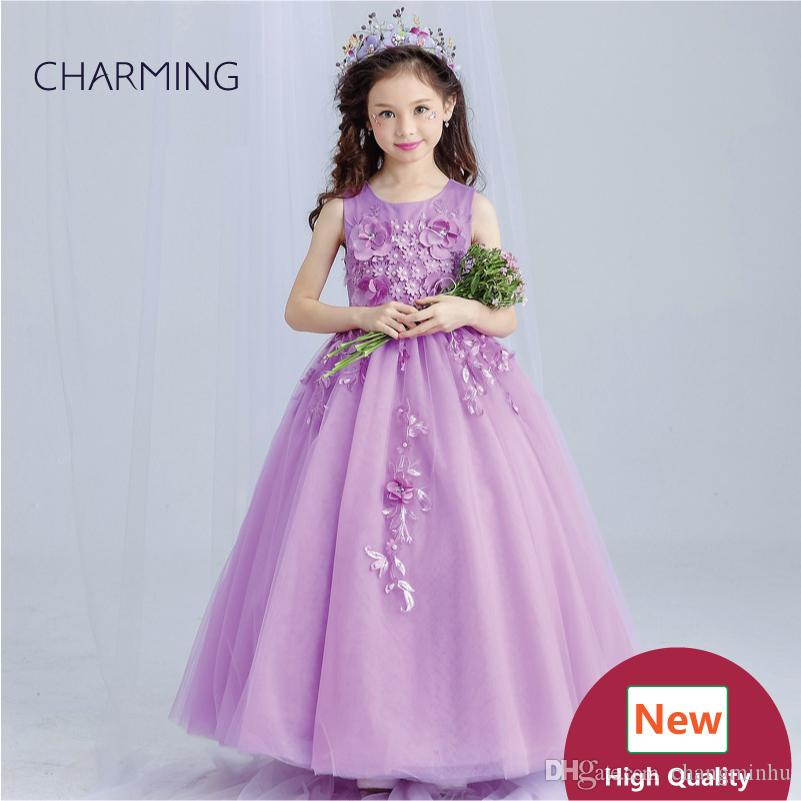 Purple Wedding Dresses For Teens High Quality Designer Dresses Dresses Real  Photo Fancy Dress China Wedding Dress Flower Dress Girls Dress Shoes From  ... d35da91e9839
