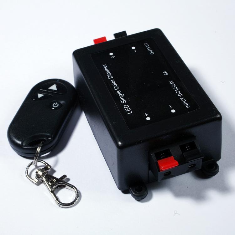 LED Single Color Dimmer DC 5V 12V 24 V Verstelbare Draadloze Remote Licht LED Dimmer Schakelaar Controller voor LED Mold Strip Light