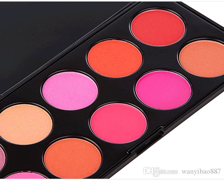 Румяна Высочайшее качество! HOT Red Cheek Rouge Цветная пластина с качественной смазкой 200 г