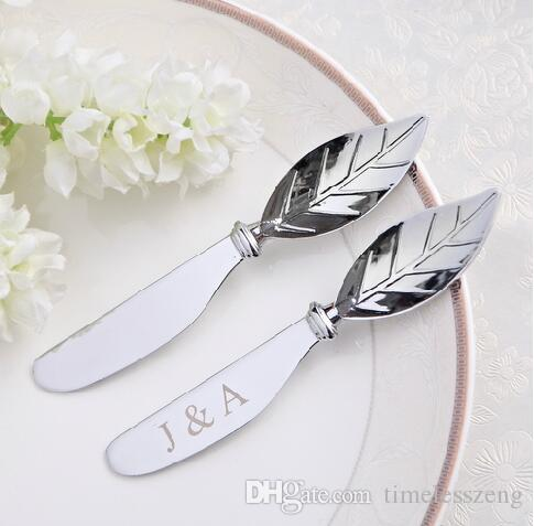 Wholesale Stainless Utensil Cutlery Butter Knife With Wooden Handle Cheese Dessert Jam Spreader Breakfast Tool Wedding Gift Party Decoration