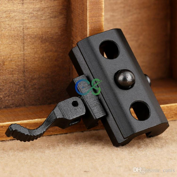 Tactical Airsoft Hunting 21.2mm Quick Detachable Sling Swivel Mount Adapter for Weaver Picatinny Rails CL33-0210