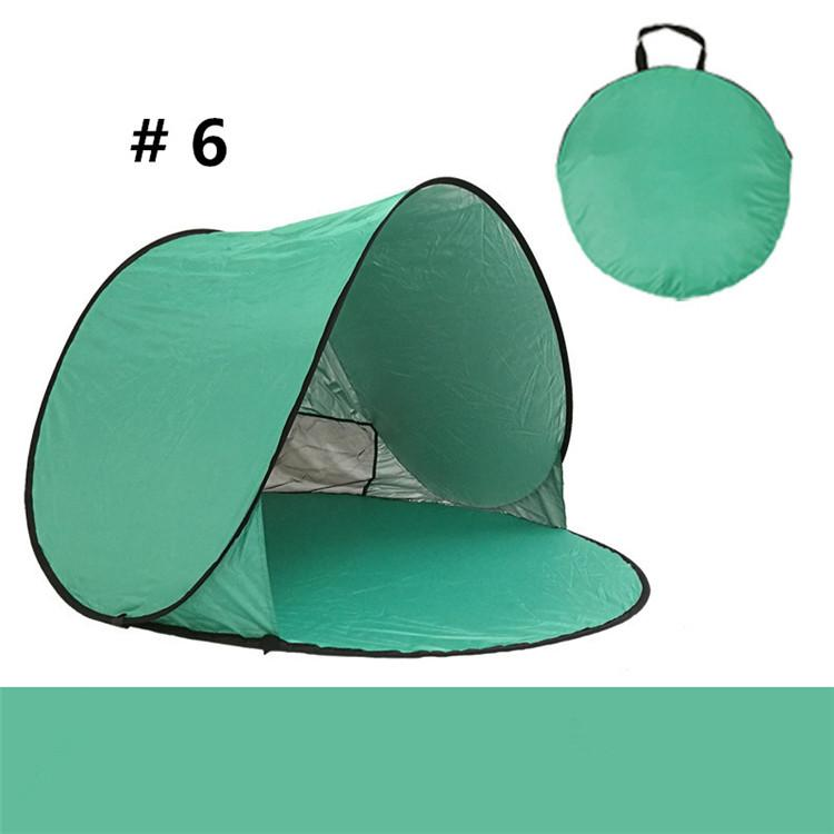 Outdoor Gear Camping Shelters Quick Automatic Opening Outdoors Tents 50+ UV Protection Tent for Beach Travel Lawn DHL/Fedex Shipping