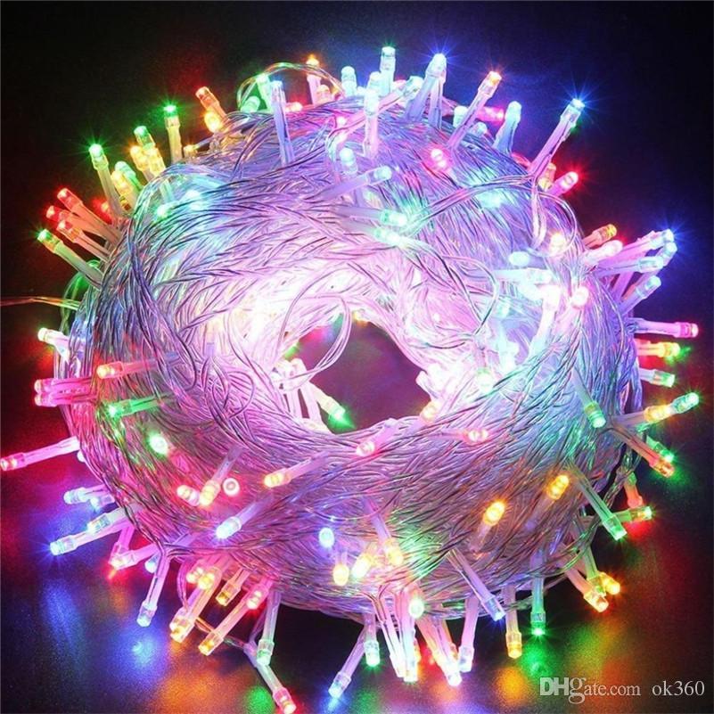 50M 400 LED Chain Fairy String Lights Purple Pink