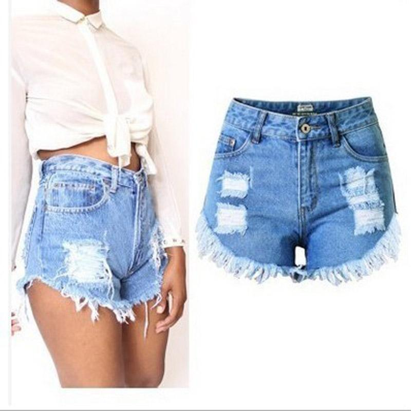 a7c7572c6b8 2018 Summer Style Shorts Women Jeans Button Ripped Denim Shorts Skinny Mini Plus  Size S-XXL Short Feminino Women Shorts Shorts Jean Shorts Online with ...