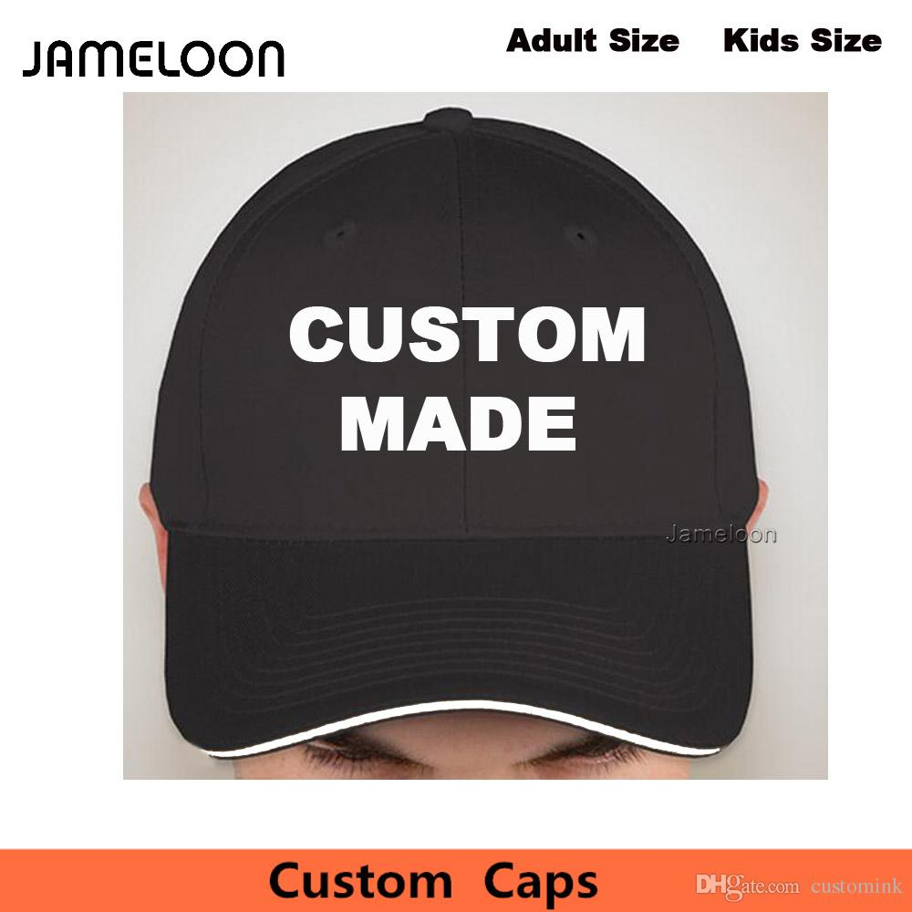 55b3624bdd1 Custom Snapback Caps Personalize Adult Or Kids Size Black Hats With Your  Own Free Logo Or Text Embroidered Design Embroidered Cap Millinery  Richardson Hats ...
