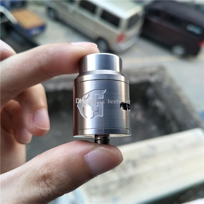 Titan Goon V1.5 RDA 24mm E-sigarette Vape E Cig atomizzatori Novità 510 Thread Alta qualità Hot Ti Goon V1.5 vendita al dettaglio