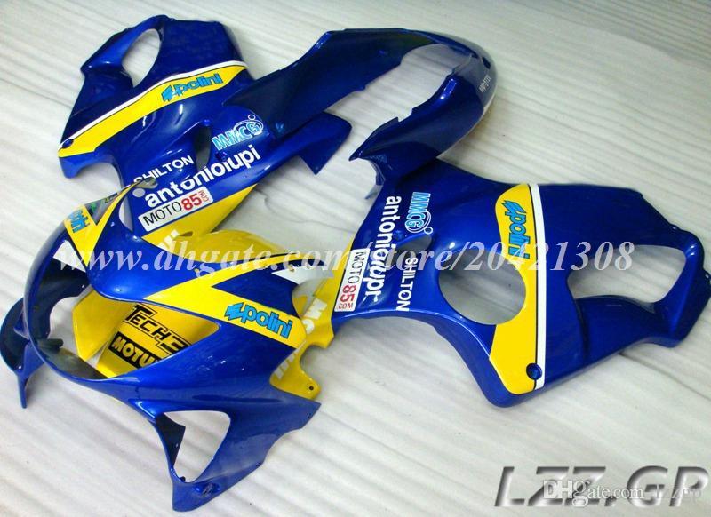 Injection fairings for Honda CBR600 F4 1999 2000 CBR600F4 99 00 CBR600RR 99-00 Fairing body kits + gifts #r7b22 blue yellow