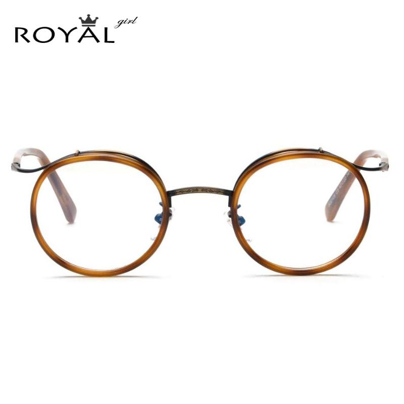 2018 Wholesale Royal Girl Metal Frame Eyeglasses Women Men Fashion ...