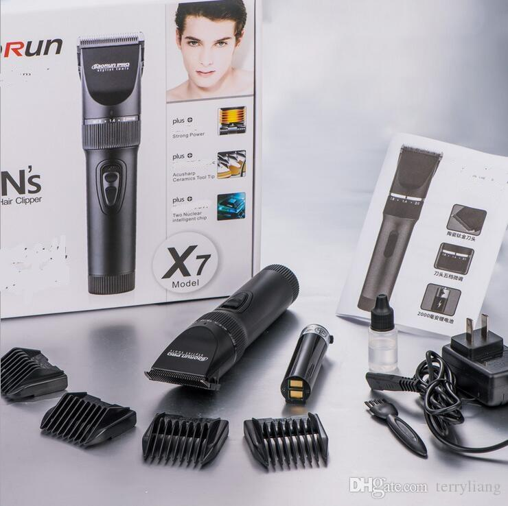 professional electric man beard trimmer precision 0.8mm comb hair cutter machine body grooming hair remover clipper trimmer