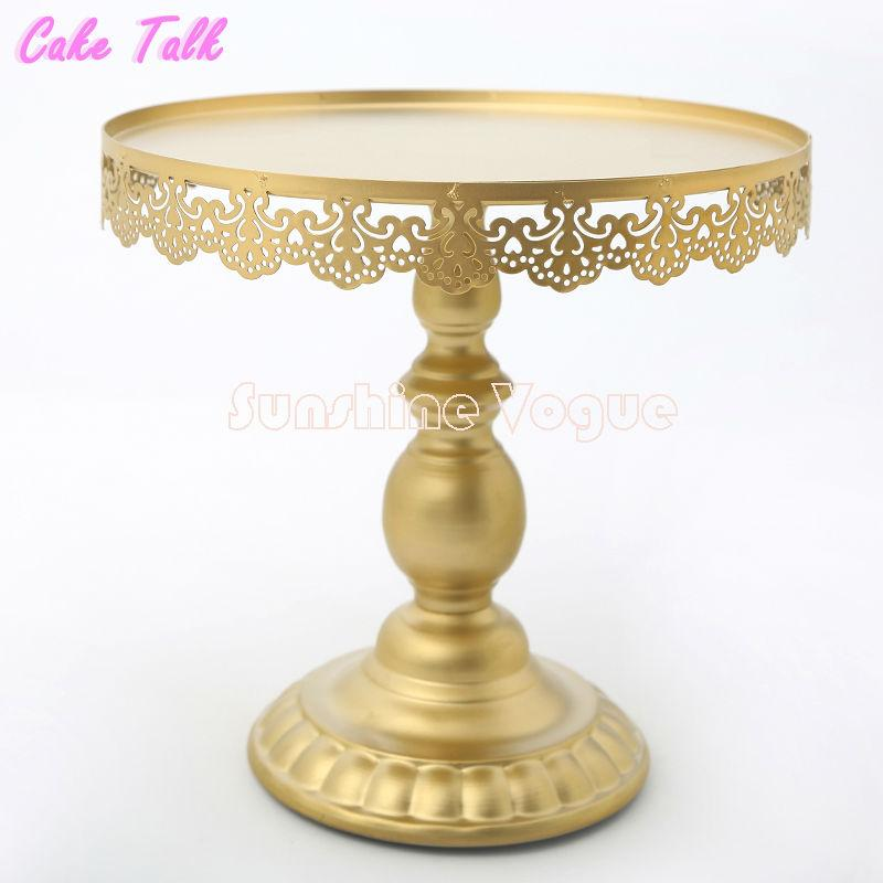 wholesale wedding cake stands 2019 gold cake stand with pendant 1390