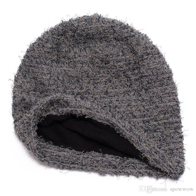 Unisex Casual Slouchy Baggy Beanie Warm Outdoor Hat Knit Skull ... dfdb926dc09b