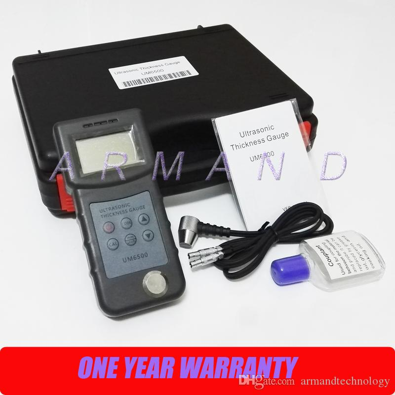 Portable Digital Ultrasonic Thickness Gauge UM6500 1.0-245mm, 0.05-8inch thickness tester