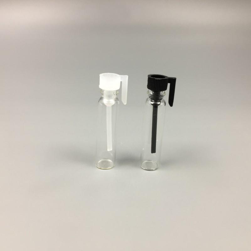 0.5ML 1ML 2ML 3ML di vetro libera della bottiglia di profumo Mini indossa una taglia Cosmetic contenitore vuoto Vial Tester trasparente il campione