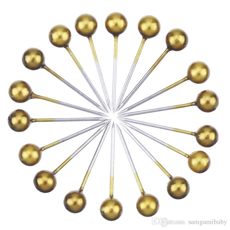 خريطة دفع دبابيس مع رئيس 1/8 بوصة ونقطة الصلب، 400 حزمة الذهب الرجعية شحن مجاني