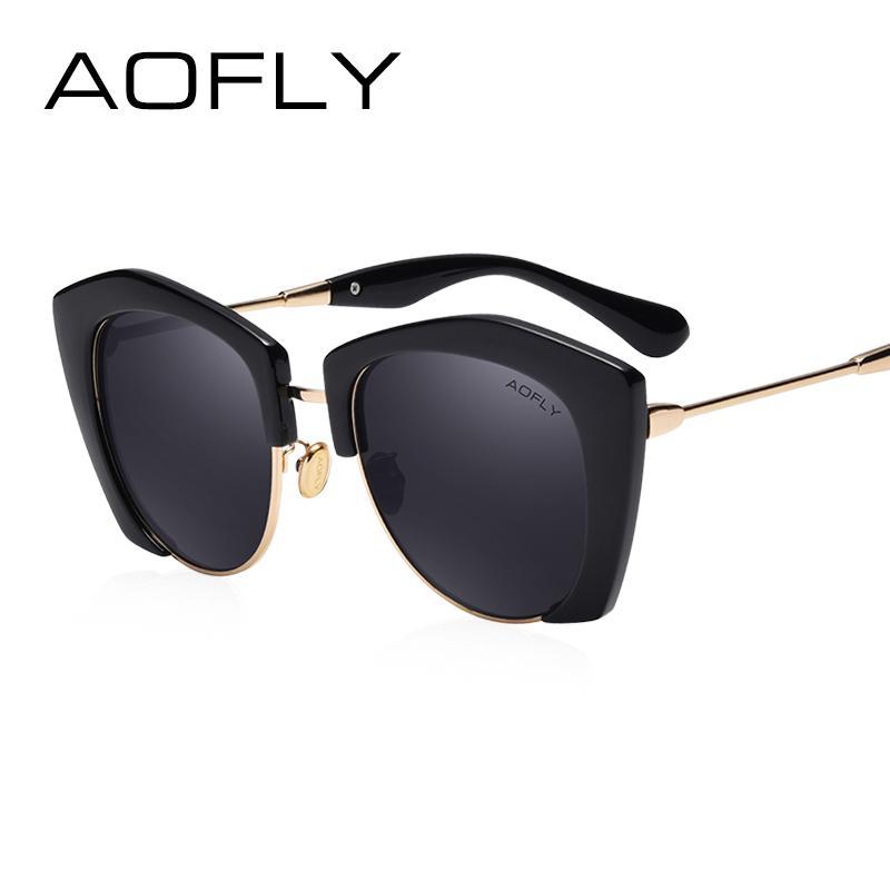 Großhandel Aofly Sonnenbrille Fashion Sonnenbrille Für Frauen ...