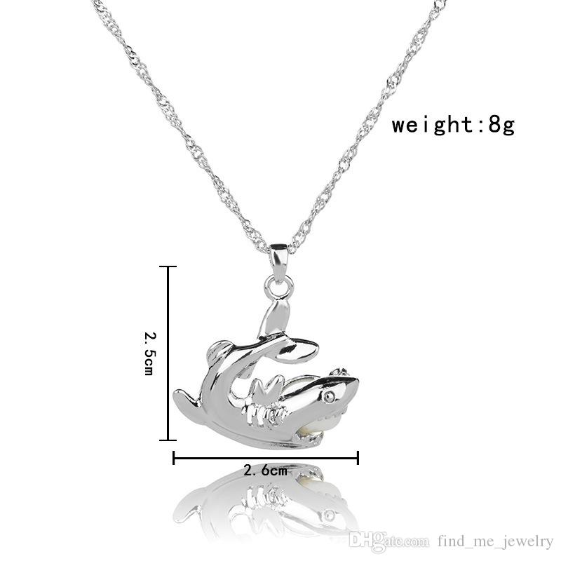 Cage Pendant Necklace 2018 new Love Wish natural Pearl With Oyster Pearl Mix Design Fashion Hollow Locket Clavicle Chain Necklace wholesale