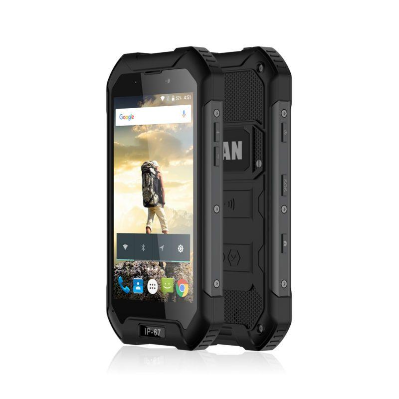 Оригинальный мобильный телефон iMAN X5 4.5 inch MTK6580 Quad Core Android 5.1 1GB RAM 8GB ROM 5MP водонепроницаемый IP67 GPS 3G WCDMA смартфон