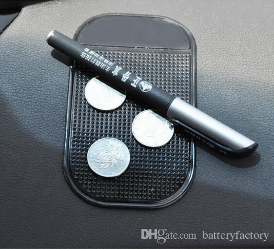 ブラックカーダッシュボードスティッキパッドマットアンチノンスリップガジェット携帯電話GPSホールダーインテリアアイテムアクセサリー