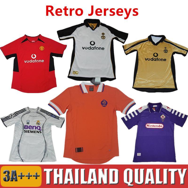 672f08d03 ... Madrid Retro Soccer Jersey 06 07 Season Netherlands 1998 Football Shirts  United Beckham ropa de futbol 16-17 ...