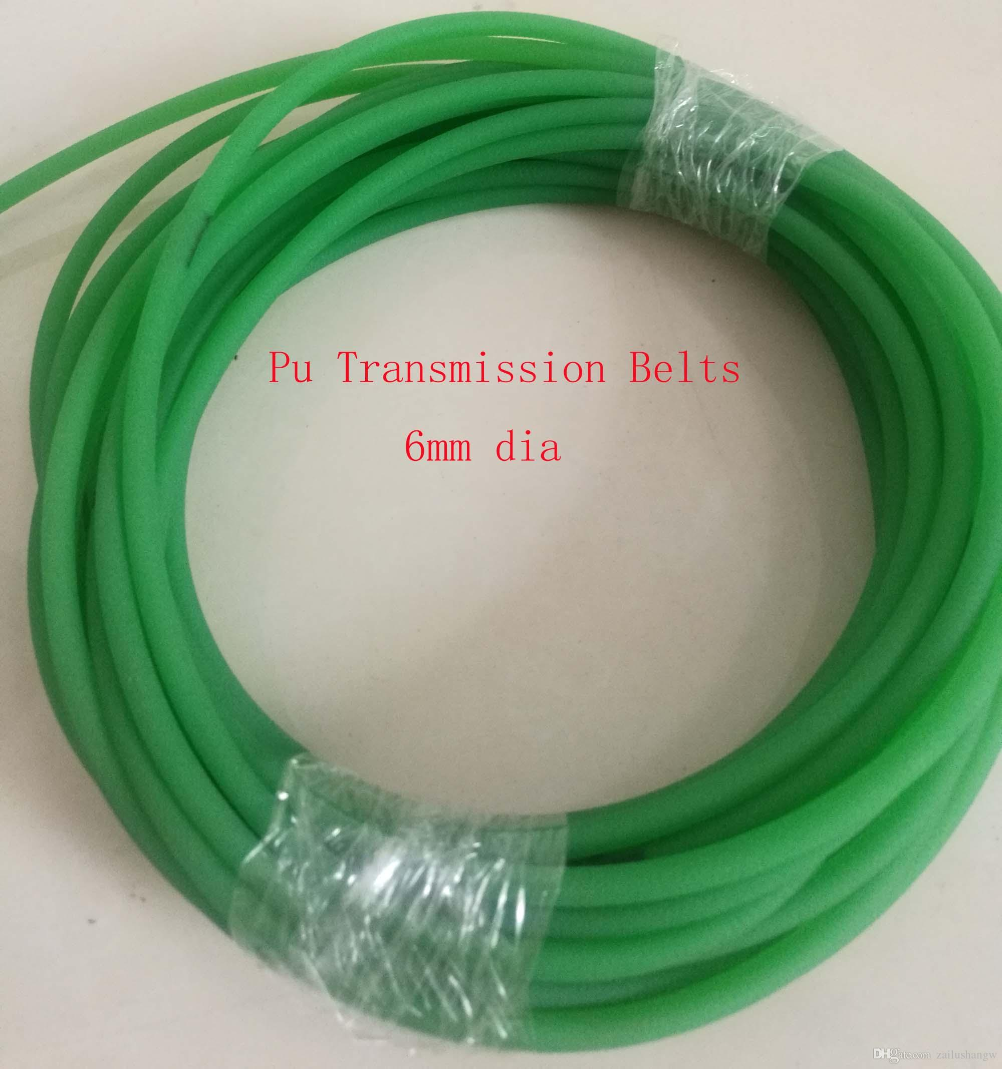 6mm Dia Rough Surface Polyurethane Pu Round Transmission Belts In Refers To The Installation Of Electrical Wiring About 10m Belt Online With 2343 Meter On