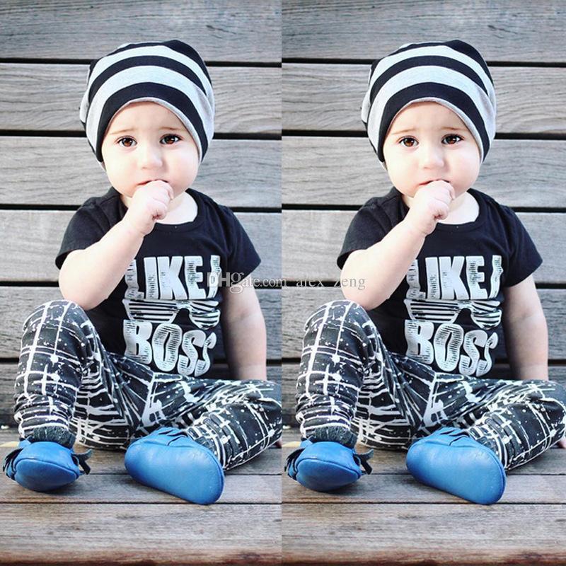 Dhl 9 أنماط أطفال ins مجموعات ملابس الطفل الأزياء الدعاوى الفتيات إلكتروني قميص السراويل الرضع عارضة ملابس الأولاد اعتصامات الحريم السراويل 1-5 طن