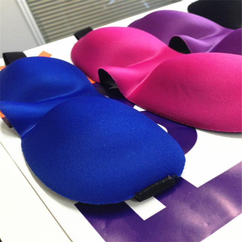 New Arrivals Hot Selling 3D Sleep Rest Travel Eye Mask Shade Eyeshade Sponge Cover Blindfold