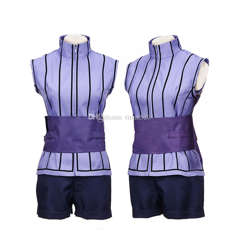 Naruto Cosplay THE LAST Hyuga Hinata Cosplay Costume Ninja Costume Carnival Costumes for Women Custom Size