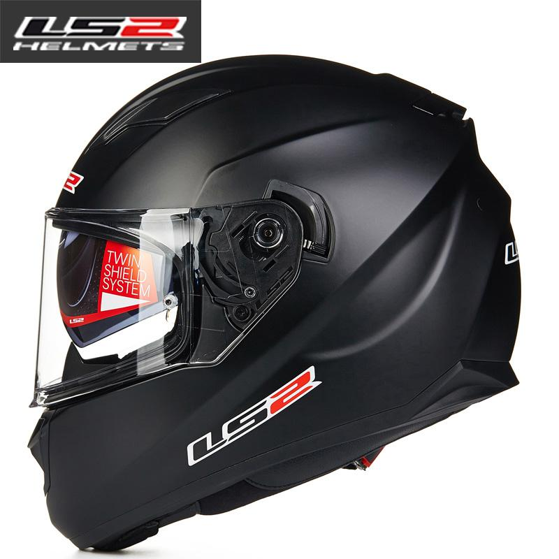 LS2 Ff328 Full Face Motorcycle Helmet Man Women Racing Moto Helmets With  Dual Lens DOT Approved Motorbike Helmets LS2 Capacete Motorcycle Helmet  Deals ... 9e0426fa9338