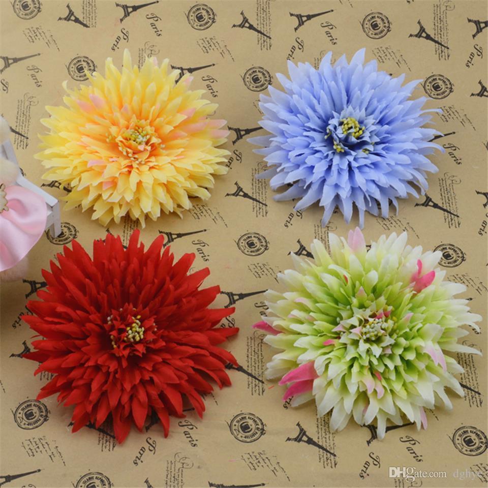 Online Cheap Wholesale 11cm Silk Daisy Artificial Flower For Wedding