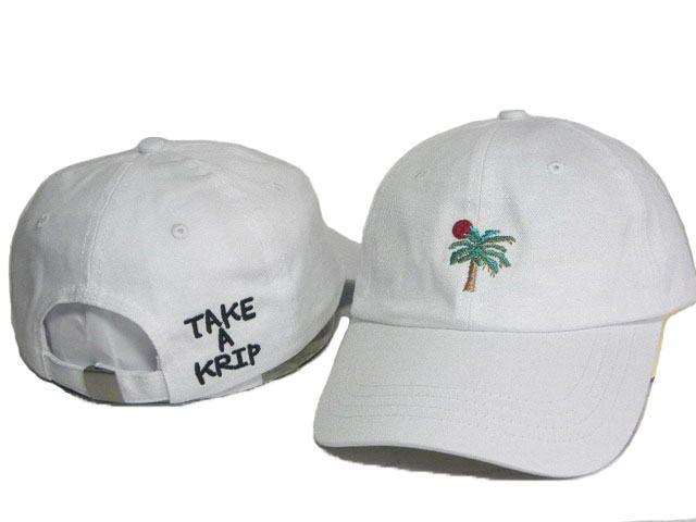 6713d471470 2017 White Underair TAKE A KRIP Summer Casquette Hats Men Casual ...