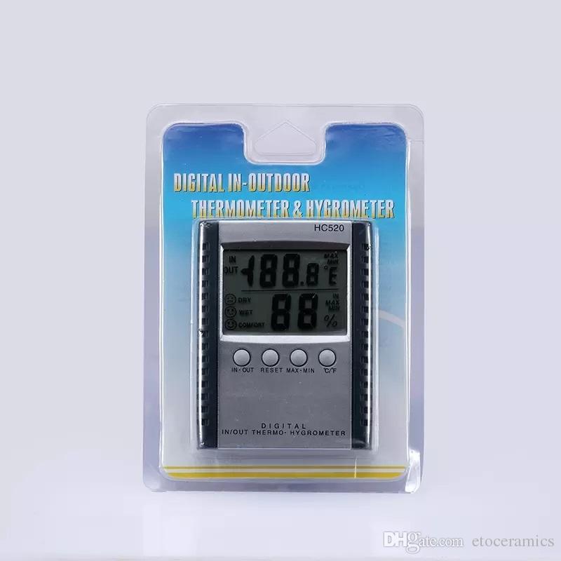 2017 HC-520 Digital Thermometer Hygrometer Temperature & Humidity ...